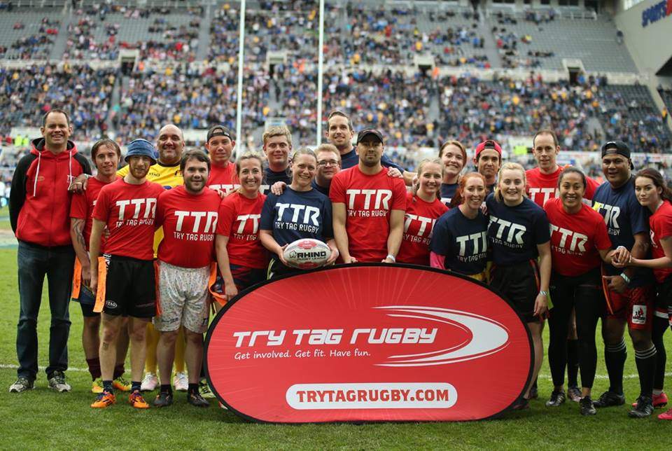 Play Tag on St.James' Park at Magic Weekend