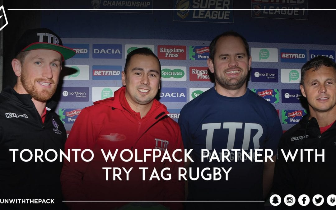 Toronto Wolfpack Partner with Try Tag Rugby