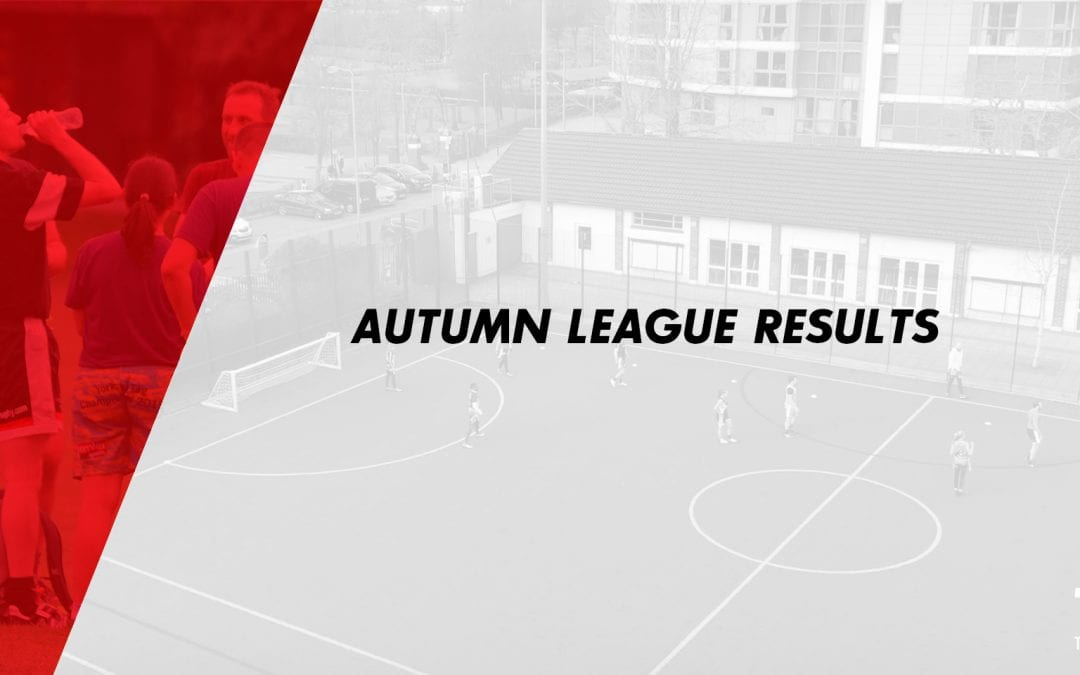 Autumn League Results 2019