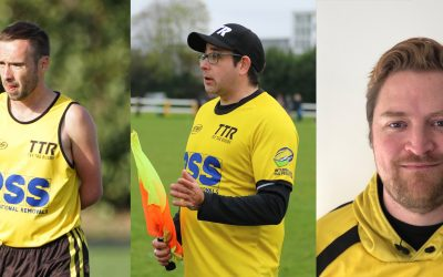 Three referees selected for British & Irish Cup