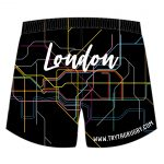 London Themed Shorts