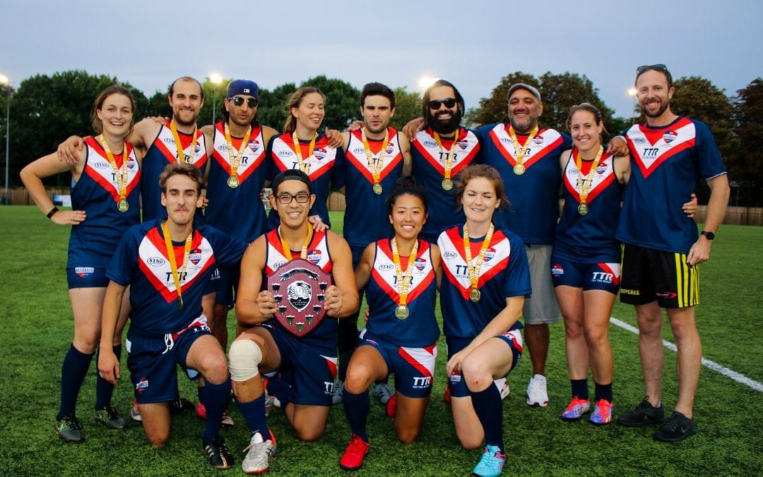East London crowed inaugural UK Try Tag Rugby National Champions