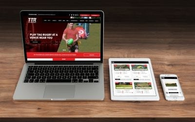 Try Tag Rugby Launch New Website