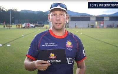 Toby Hartley leaves Try Tag Rugby