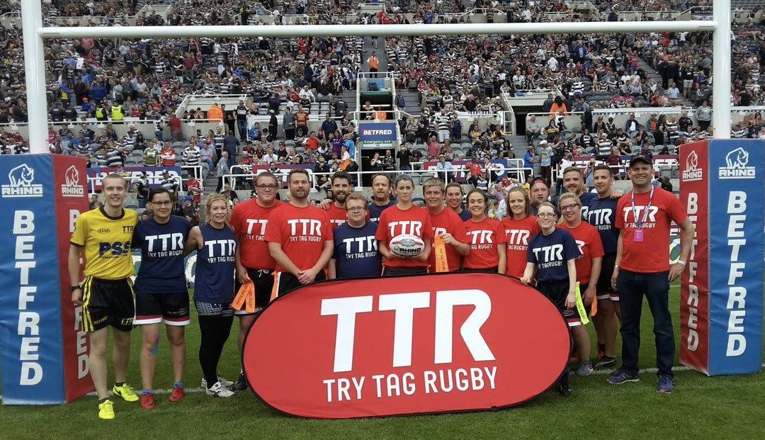 Try Tag Rugby to feature at St James' Park